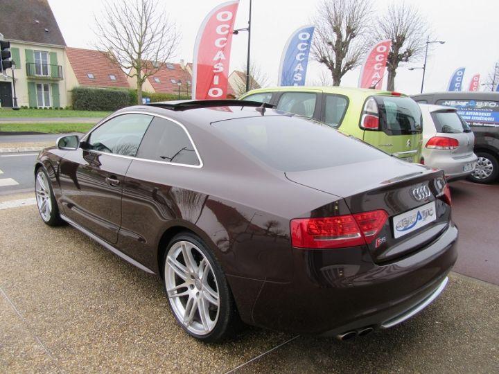 Audi S5 COUPE 4.2 V8 FSI 354CH QUATTRO TIPTRONIC Marron Occasion - 3