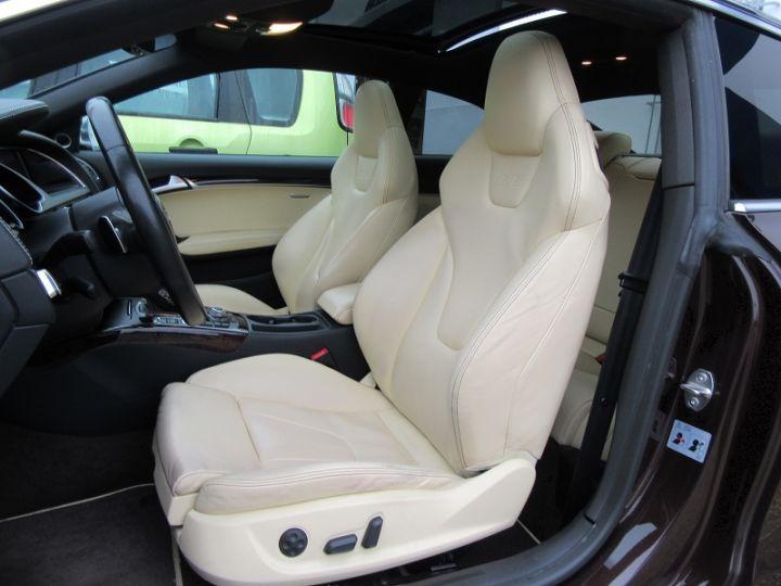 Audi S5 COUPE 4.2 V8 FSI 354CH QUATTRO TIPTRONIC Marron Occasion - 4