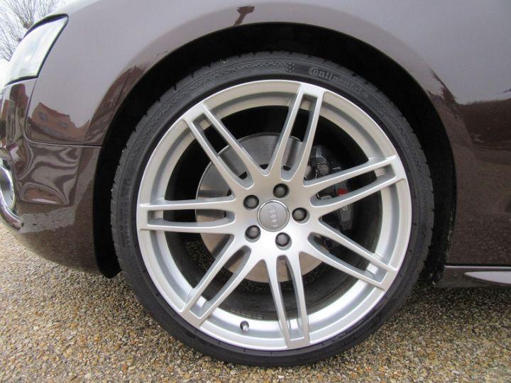 Audi S5 COUPE 4.2 V8 FSI 354CH QUATTRO TIPTRONIC Marron Occasion - 8