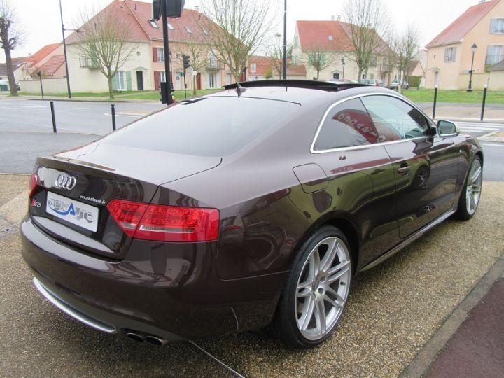 Audi S5 COUPE 4.2 V8 FSI 354CH QUATTRO TIPTRONIC Marron Occasion - 10