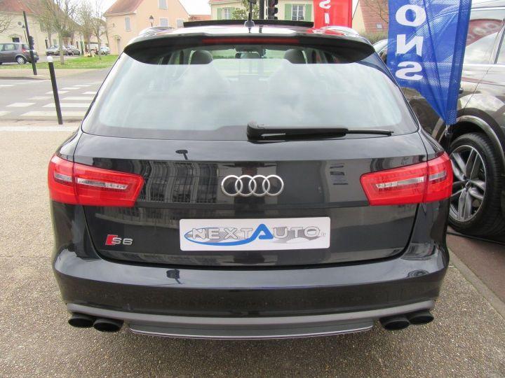 Audi S6 4.0 V8 TFSI 420CH QUATTRO S TRONIC 7 Noir - 7