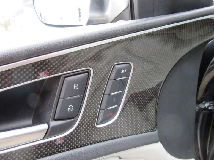 Audi S6 4.0 V8 TFSI 420CH QUATTRO S TRONIC 7 Noir - 14