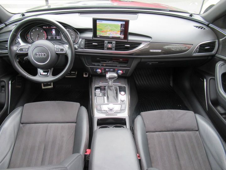 Audi S6 4.0 V8 TFSI 420CH QUATTRO S TRONIC 7 Noir - 12