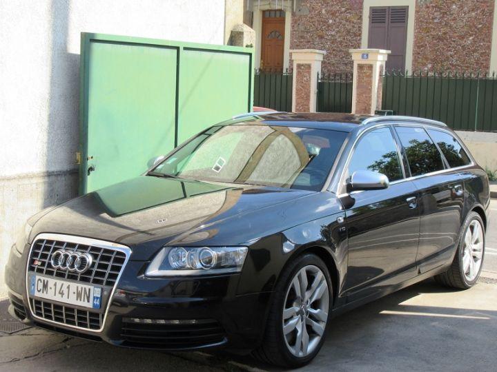 Audi S6 5.2 V10 435CH QUATTRO TIPTRONIC NOIR Occasion - 1