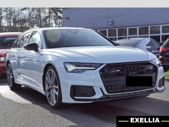 Audi S6 Avant TDI  BLANC PEINTURE METALISE  Occasion - 1