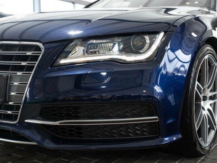 Audi S7 SPORTBACK 4.0 TFSI 420 QUATTRO Bleu effet crystal - 6