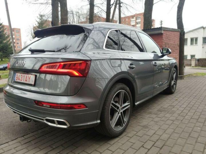 Audi SQ5 cuir gris  - 3