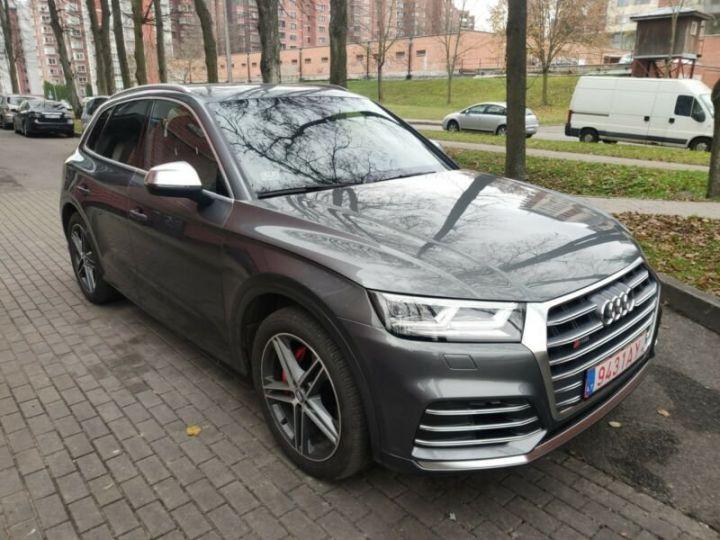 Audi SQ5 cuir gris  - 4