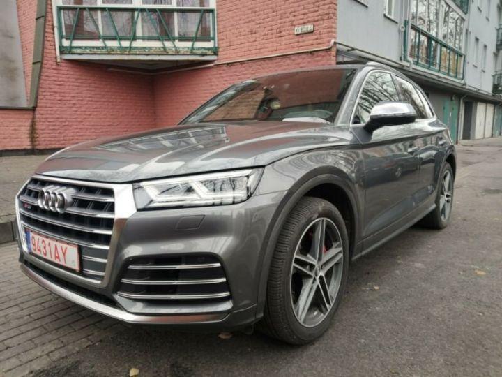 Audi SQ5 cuir gris  - 11