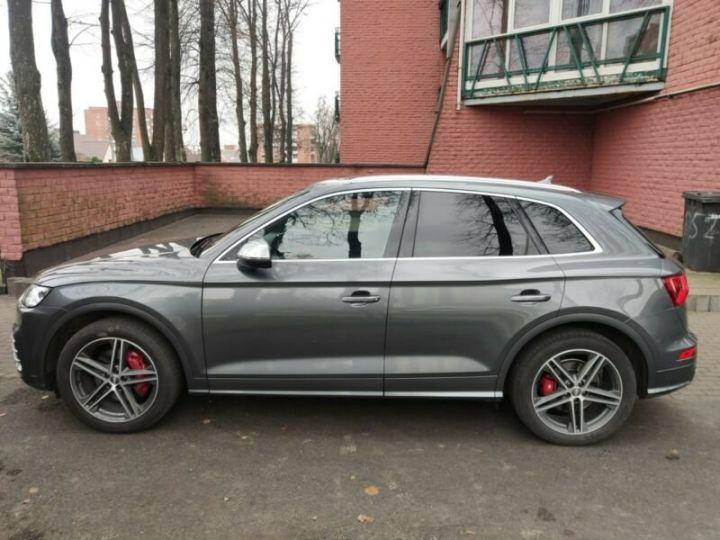 Audi SQ5 cuir gris  - 12