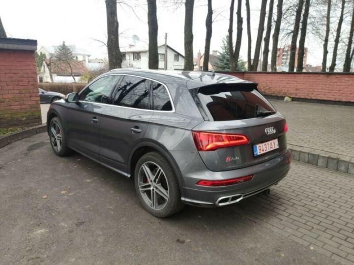 Audi SQ5 cuir gris  - 13