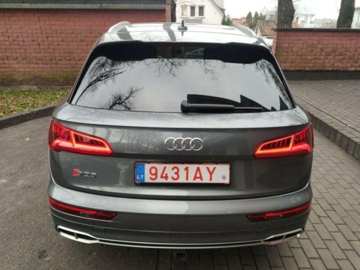 Audi SQ5 cuir gris  - 14