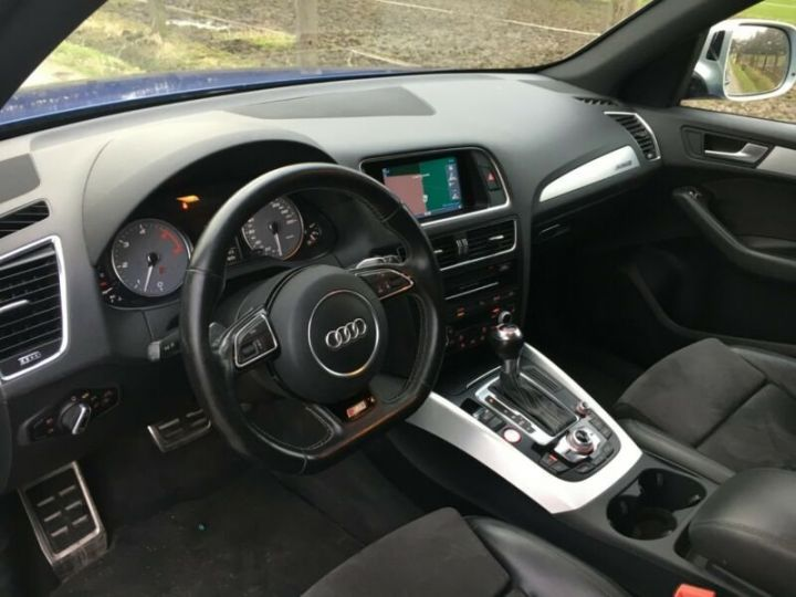 Audi SQ5 3.0 TDI competition quattro Bleu - 5