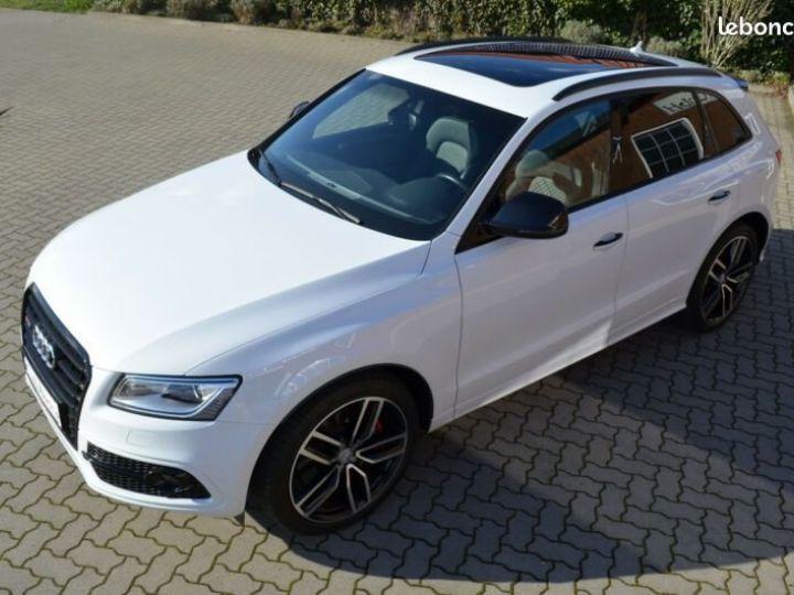 Audi SQ5 3.0 TDI PLUS, B & O, 21 , Pano, ACC, AHK, FULL Blanc - 3