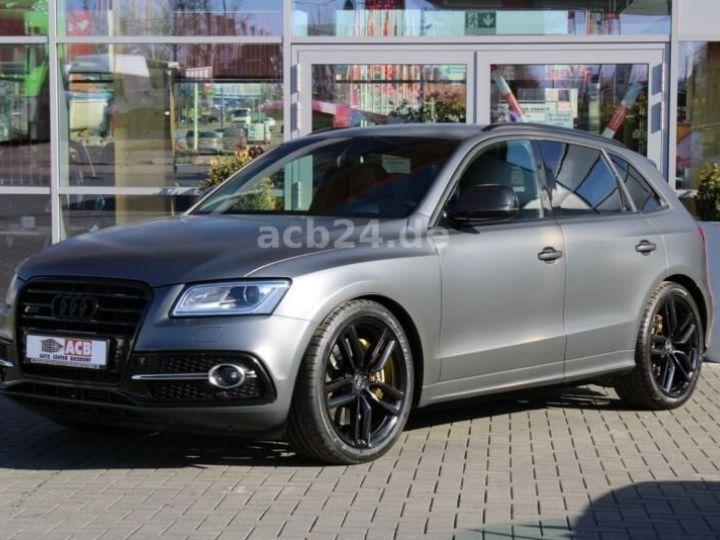 Audi SQ5  3.0 TDI Qu Competition,1ere Main Gris Peinture métallisée - 1