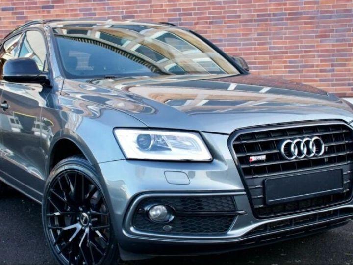 Audi SQ5 #  3.0 TFSI-1, Toit Pano # Gris Peinture métallisée - 3