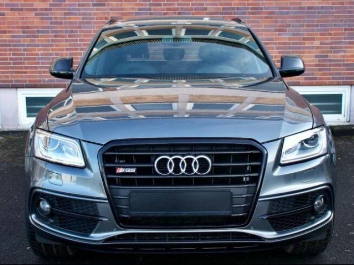 Audi SQ5 #  3.0 TFSI-1, Toit Pano # Gris Peinture métallisée - 4