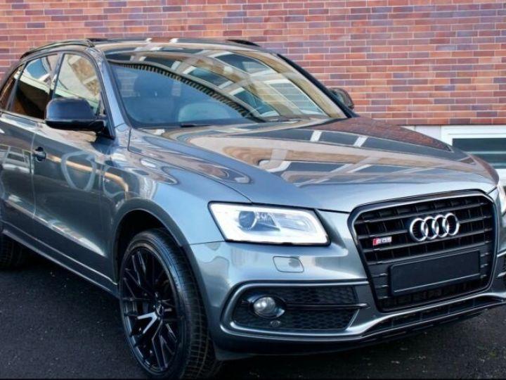 Audi SQ5 #  3.0 TFSI-1, Toit Pano # Gris Peinture métallisée - 7
