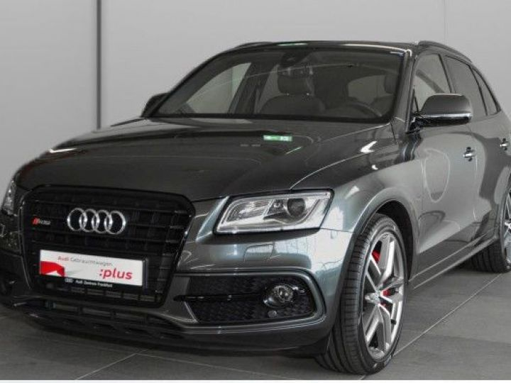 Audi SQ5 3.0 V6 BITDI 313CH QUATTRO TIPTRONIC GRIS Occasion - 1