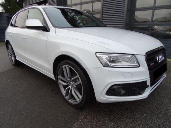 Audi SQ5 3.0 V6 BITDI 313CH QUATTRO TIPTRONIC BLANC Occasion - 1