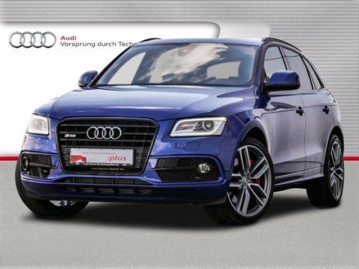 Audi SQ5 3.0 V6 BITDI 326CH QUATTRO TIPTRONIC BLEU Occasion - 1