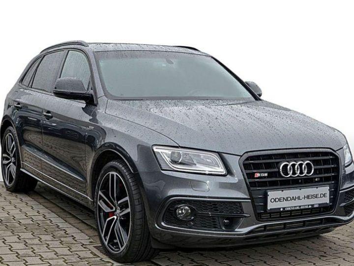 Audi SQ5 3.0 V6 BITDI 340CH PLUS QUATTRO TIPTRONIC GRIS Occasion - 1