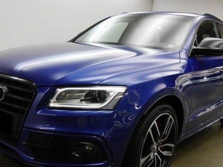 Audi SQ5 3.0 V6 BITDI 340CH PLUS QUATTRO TIPTRONIC BLEU Occasion - 1