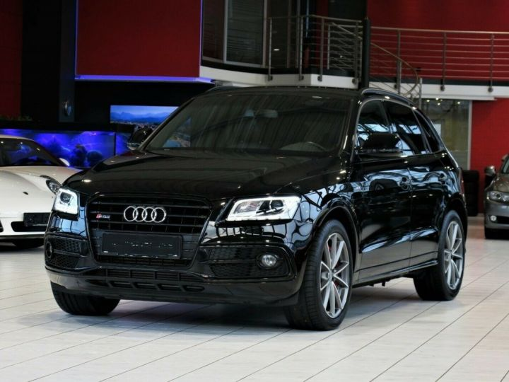 Audi SQ5 3.0TDI competition qua*NAPPA*MMI*XENON Noir Peinture métallisée - 1