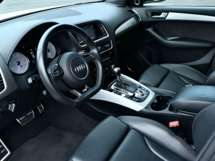 Audi SQ5  3.0TFSI-1 Jahr Garantie / Toi Pano Bleu Peinture métallisée - 9