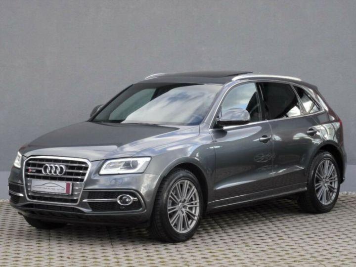 Audi SQ5 Audi SQ5 3.0 TDI (313 Ch/ quattro/panoramique/Garantie 12mois gris foncé - 4