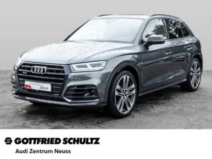 Audi SQ5 Audi SQ5 3.0 TDI quattro GPS / CLIM/ Phare LED MATRIX/ Toit PANO / Garantie 12 mois  Gris métallisée  - 1