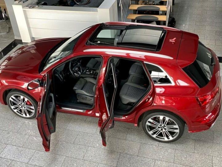Audi SQ5 Audi SQ5 3.0 TFSI quattro 354ch* Toit Pano Ouvrant* B&O* Caméra* Hayon Elect* 1er Main* Garantie 12 mois rouge - 2