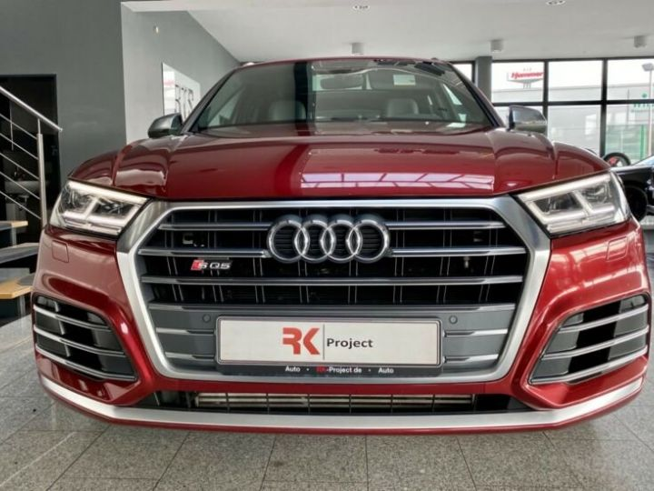 Audi SQ5 Audi SQ5 3.0 TFSI quattro 354ch* Toit Pano Ouvrant* B&O* Caméra* Hayon Elect* 1er Main* Garantie 12 mois rouge - 4