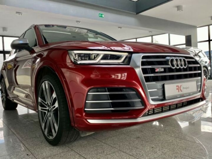 Audi SQ5 Audi SQ5 3.0 TFSI quattro 354ch* Toit Pano Ouvrant* B&O* Caméra* Hayon Elect* 1er Main* Garantie 12 mois rouge - 5