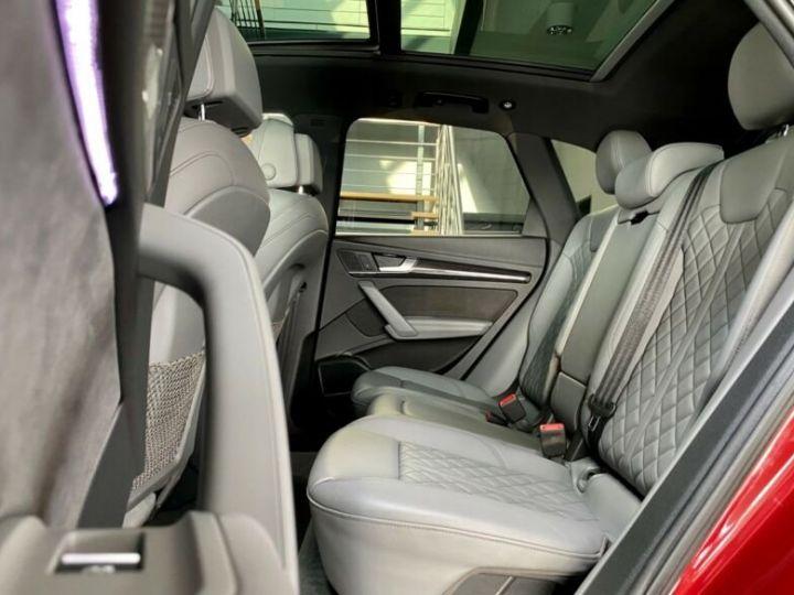 Audi SQ5 Audi SQ5 3.0 TFSI quattro 354ch* Toit Pano Ouvrant* B&O* Caméra* Hayon Elect* 1er Main* Garantie 12 mois rouge - 15