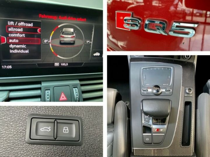 Audi SQ5 Audi SQ5 3.0 TFSI quattro 354ch* Toit Pano Ouvrant* B&O* Caméra* Hayon Elect* 1er Main* Garantie 12 mois rouge - 18
