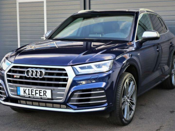 Audi SQ5 Audi SQ5 3.0 TFSI tiptronic quattro/Virtual cockpit/GPS/Toit Panoramique/Garantie 12 Mois  bleu - 1