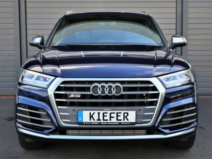 Audi SQ5 Audi SQ5 3.0 TFSI tiptronic quattro/Virtual cockpit/GPS/Toit Panoramique/Garantie 12 Mois  bleu - 11