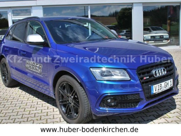 Audi SQ5 Audi SQ5 V6 3.0 BiTDI 326 Quattro Tiptronic 8/Toit Panoramique/Garantie 12Mois bleu - 1