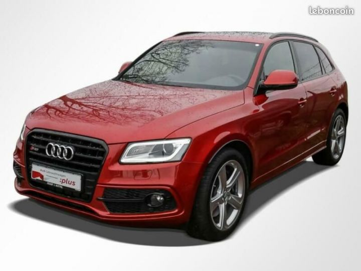 Audi SQ5 TDI compétition ACC / Pano / Navi / 21  Rouge - 1