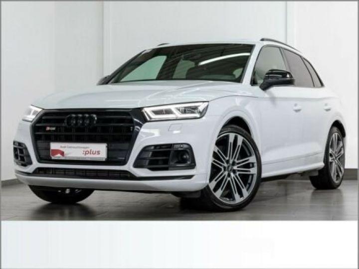 Audi SQ5 TDI / Toit ouvrant / Garantie 12 mois / siège Cuir Alcantara  Blanc - 1