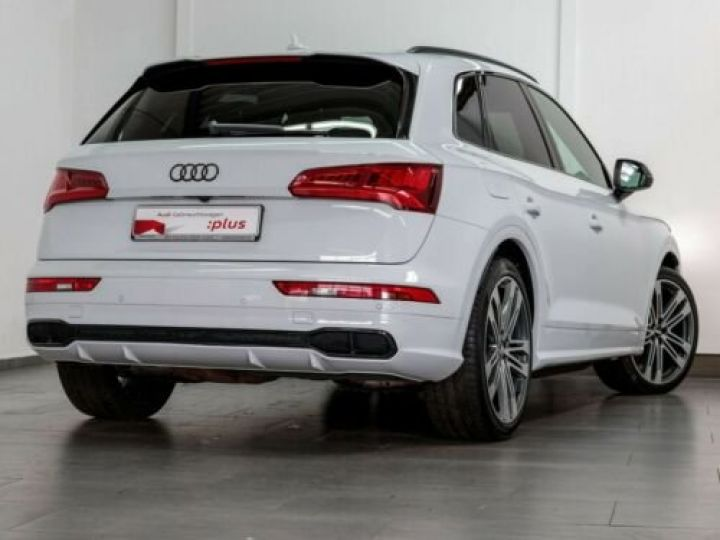 Audi SQ5 TDI / Toit ouvrant / Garantie 12 mois / siège Cuir Alcantara  Blanc - 2