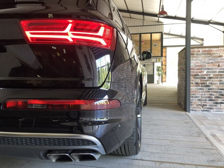 Audi SQ7 4.0 TDI 435 CV QUATTRO BVA 7PL Noir - 20