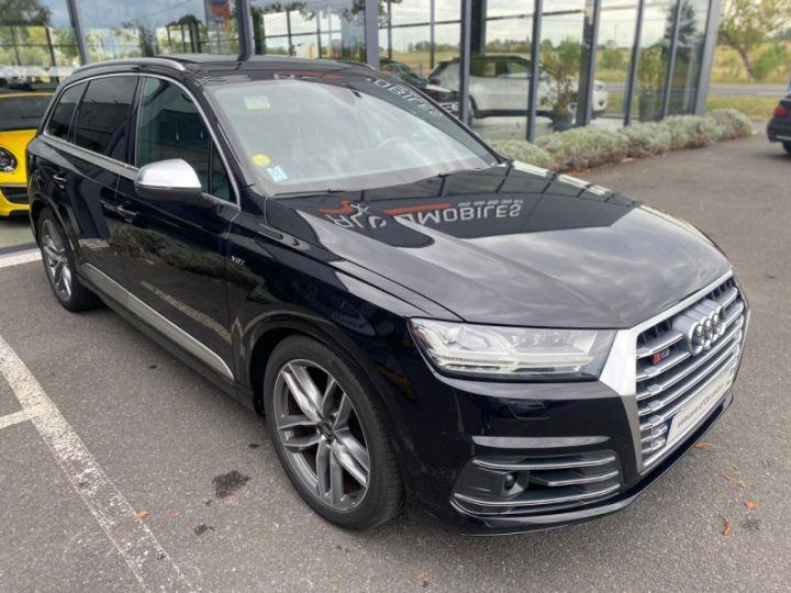 Audi SQ7 4.0 V8 TDI 435CH CLEAN DIESEL QUATTRO TIPTRONIC 7 PLACES Noir - 7