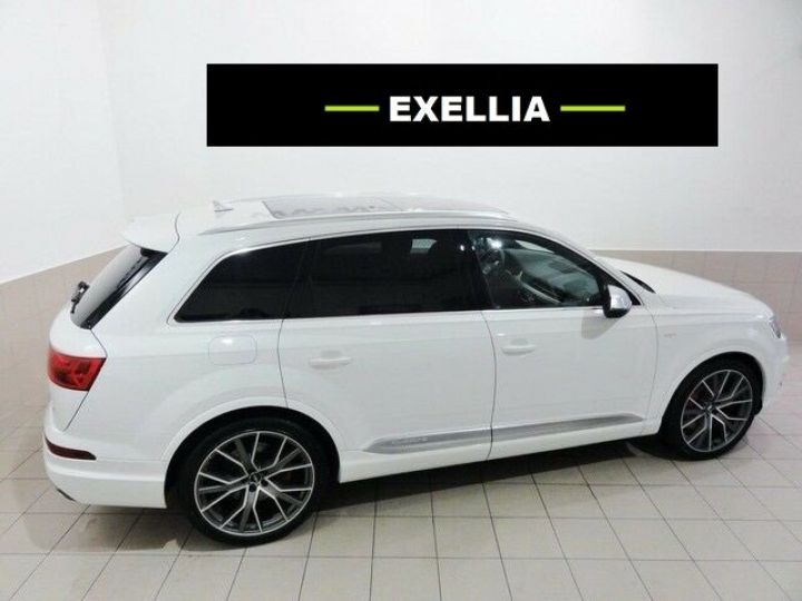 Audi SQ7 4.0TDI 435 7 places BLANC  Occasion - 3
