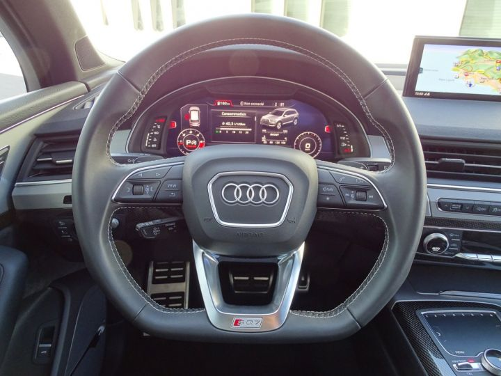 Audi SQ7 AUDI SQ7 QUATTRO 4.0 TDI 435 CV - MONACO Noir Metal - 10