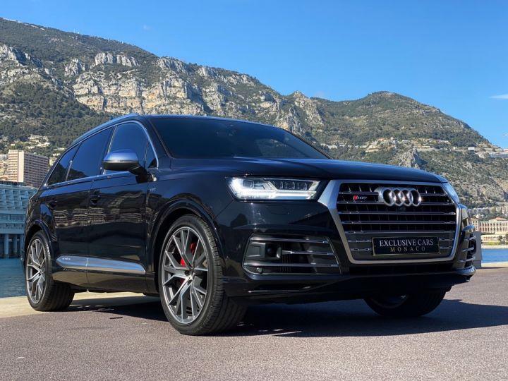 Audi SQ7 QUATTRO 4.0 TDI 435 CV - MONACO Noir Orca Metal - 19