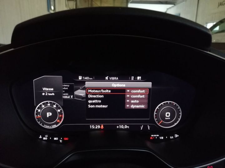 Audi TT 2.0 TFSI 230 CV SLINE QUATTRO BVA Gris - 14