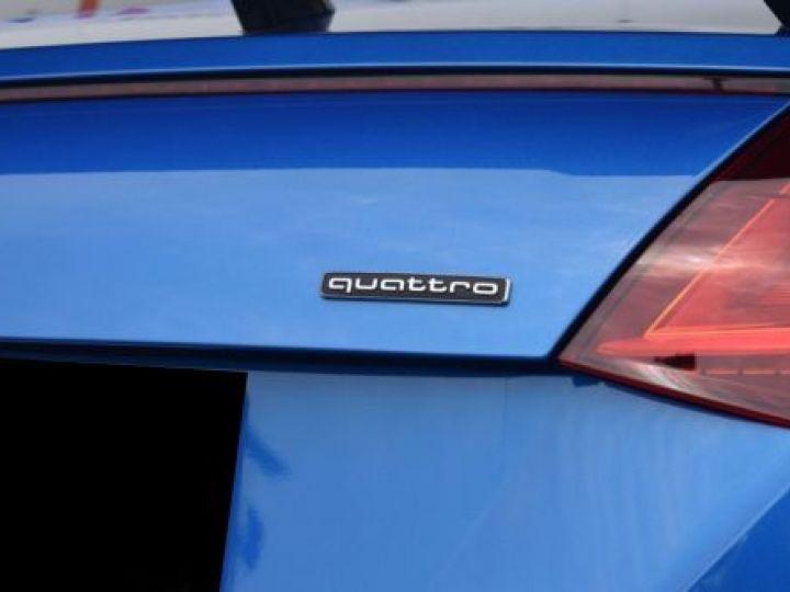 Audi TT 2.0 TFSI 230CH S LINE S TRONIC 6 BLEU Occasion - 16