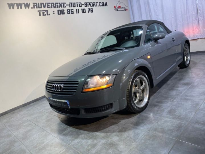 Audi TT (8N) 1.8 T 180cv CABRIOLET 3P BVM GRIS FONCE - 1
